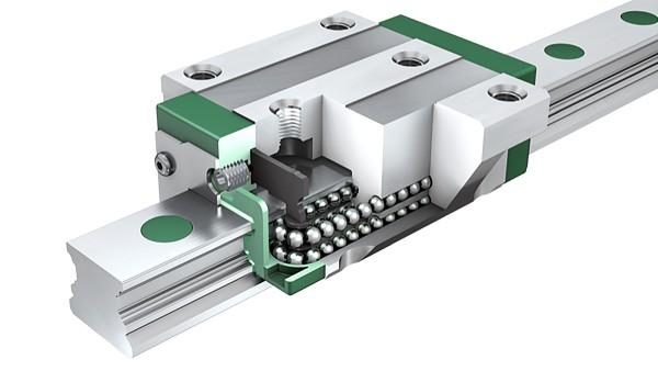 舍弗勒X-life产品:直线循环滚子轴承及导轨组件