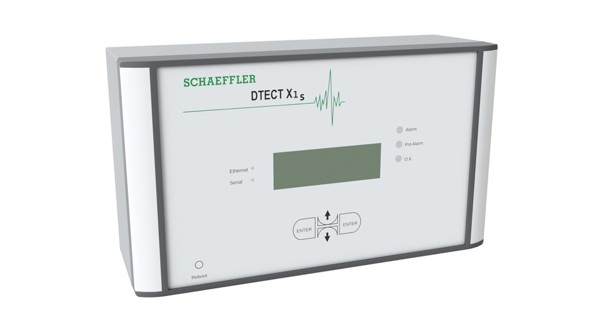 DTECT X1 s是一个灵活的在线系统,用于监控机械和工厂行业中的旋转部件和元件。