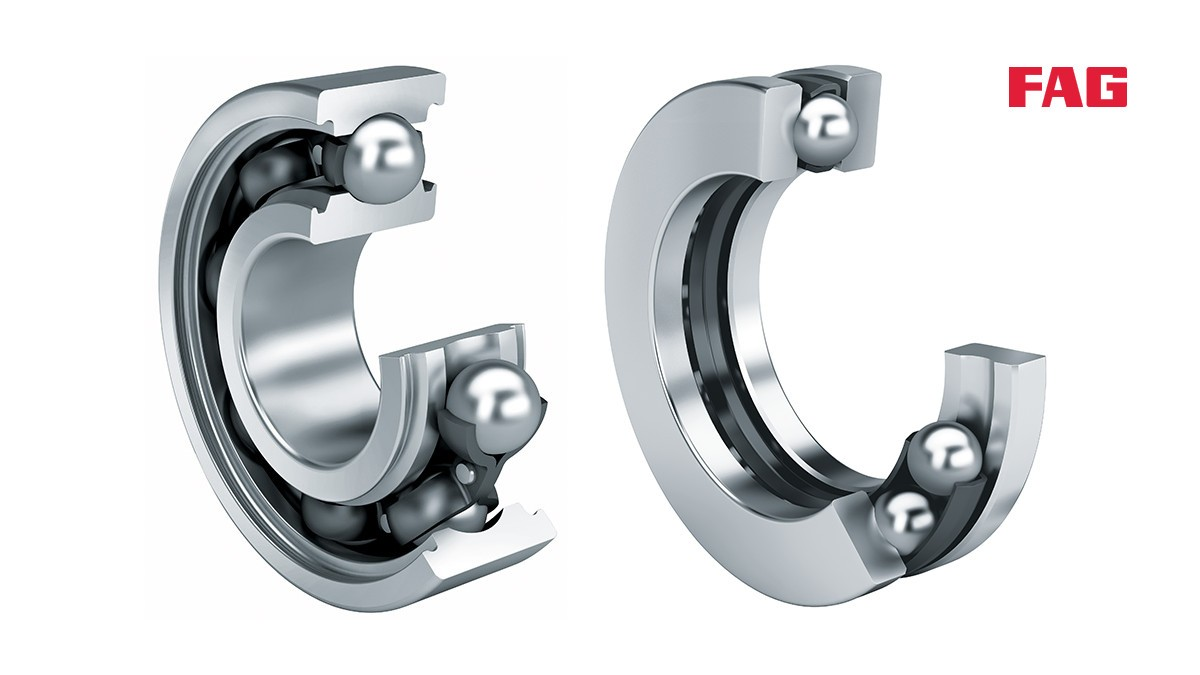 FAG deep groove ball bearings radial and axial - product presentation