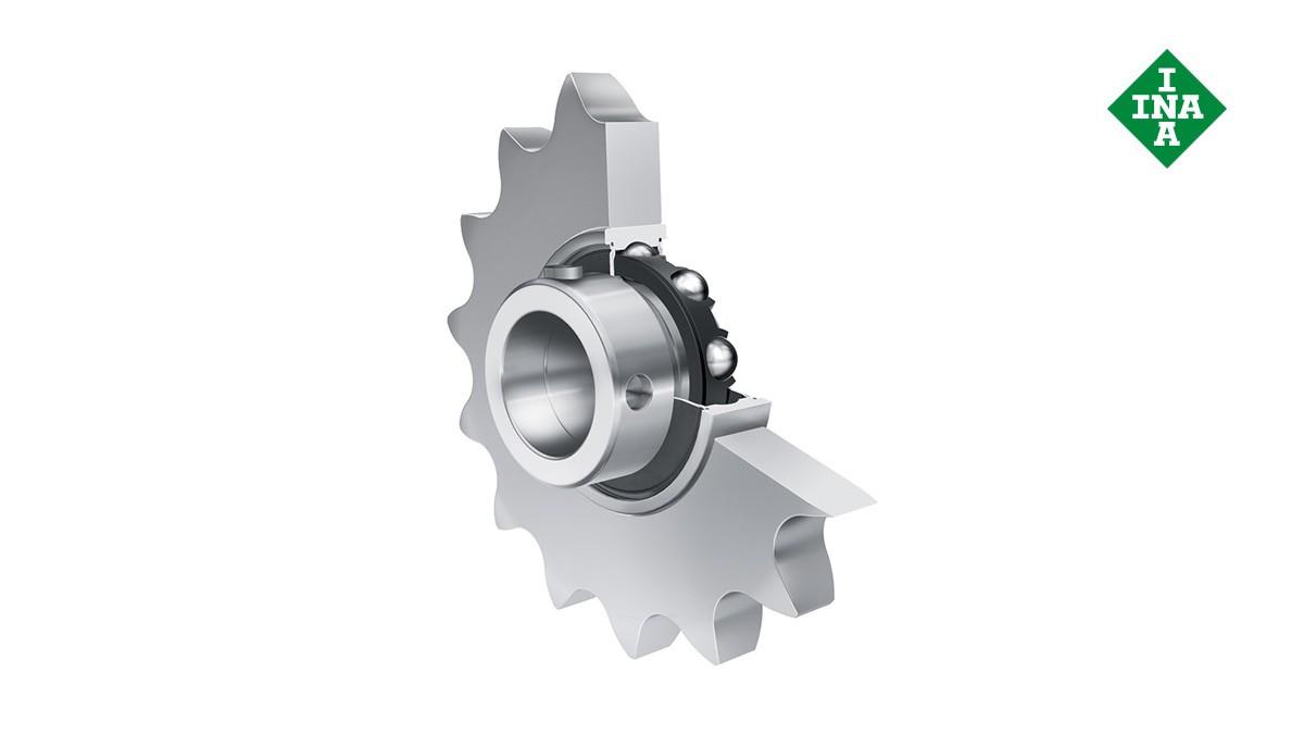 Schaeffler rolling bearings and plain bearings: Roller chain idler sprocket units