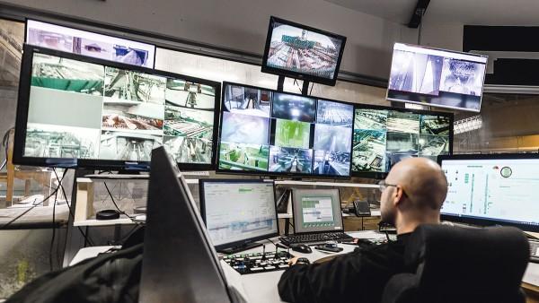锯木厂控制中心